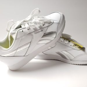 5bedea34a Reebok · Reebok Classic Leather Trainers White Youth ...